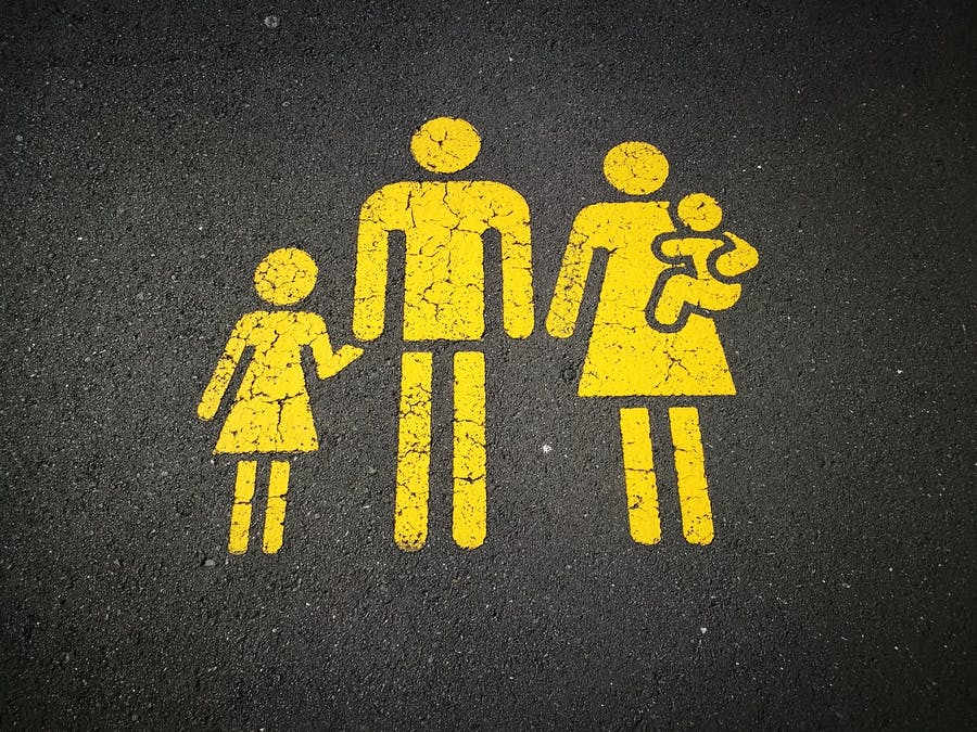conciliacion de la vida laboral y familiar dibujo familia